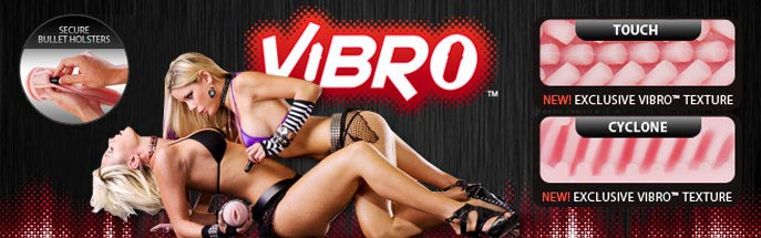 Серия супермастурбаторов Fleshlight Vibro Pink Lady Touch